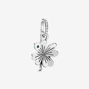 ❣️Pandora  Lucky Four-Leaf Clover Pendant
